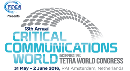 Critical Communications World 2016